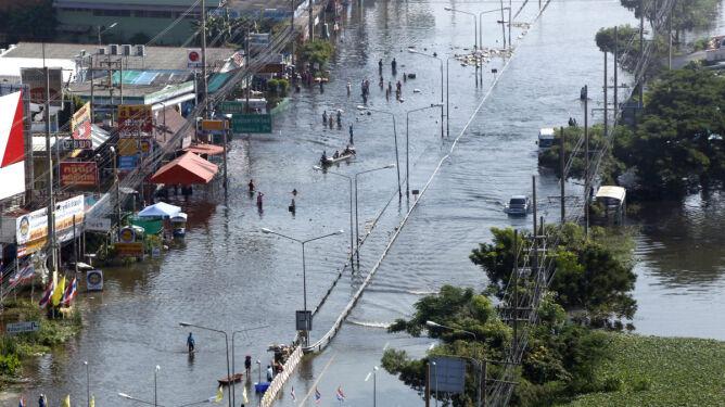 Skąd tyle deszczu w Tajlandii?