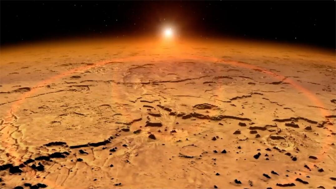 Skąd wzięły się doliny na Marsie? Nowe odkrycie naukowców
