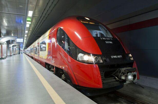 Od niedzieli nowy rozkład jazdy pociągów ZTM