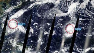 Potężny huragan i supertajfun. Niespokojnie na Oceanie Spokojnym