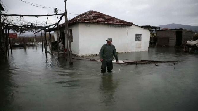 """""""Wszystko zostało zalane"""". Albania pod wodą"""