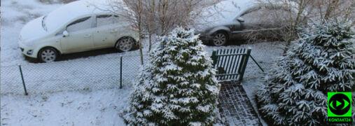 Śnieg przykrył część Polski