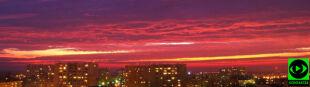 Parhelion i zachód jak zorza. Kolorowy spektakl na polskim niebie