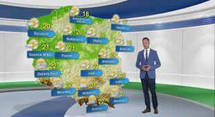 Prognoza pogody na poniedziałek 24.05